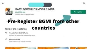 Read more about the article Pre-register battlegrounds mobile India from other countries